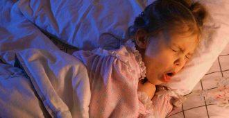 как снять ночью приступ кашля у детей