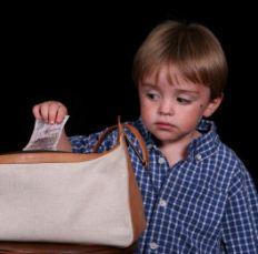 Почему дети воруют?