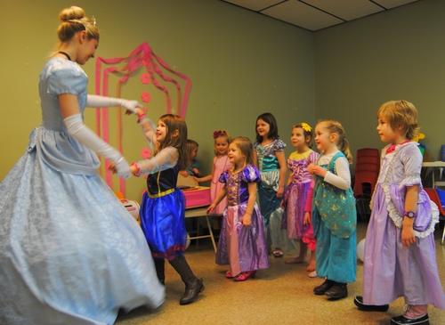 день рождения девочки в стиле принцессы