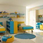 детская комната для двоих школьников
