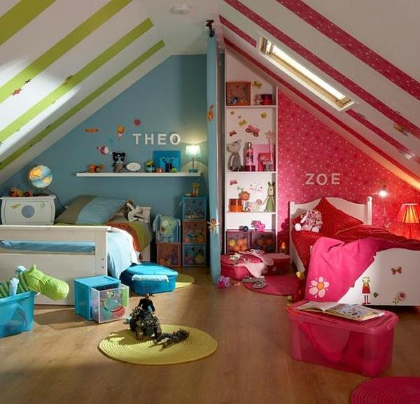 У детей создается впечатление, что у каждого из них своя комната