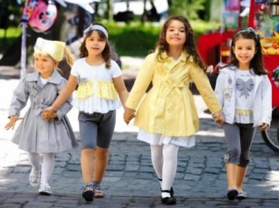 Детская одежда на весну