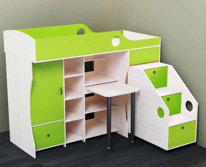 двухэтажная кровать для дошкольника