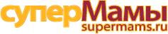 Логотип сайта Супермамы: сайт для мам