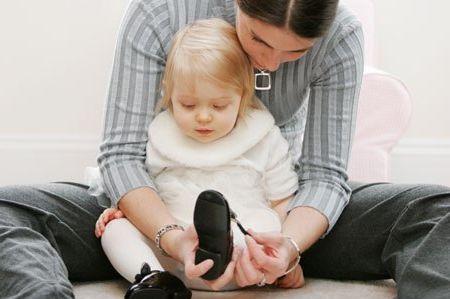 определить размер обуви шестимесячного ребенка