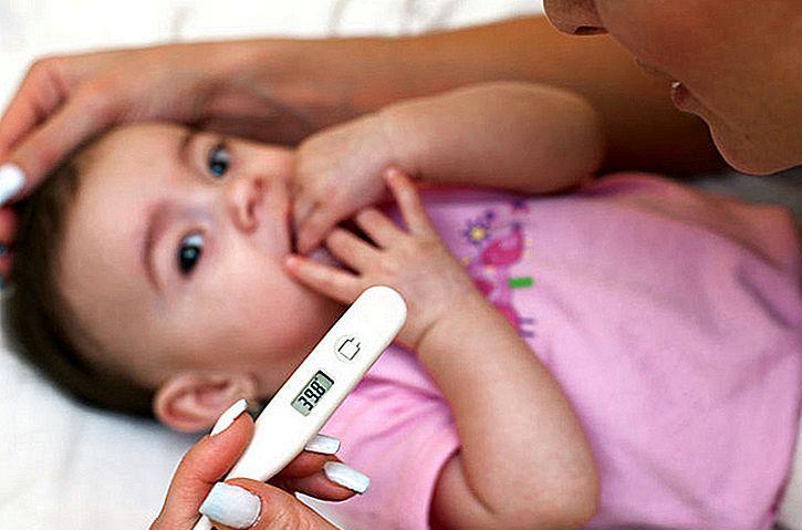 Высокая температура 39 и кашель у ребенка