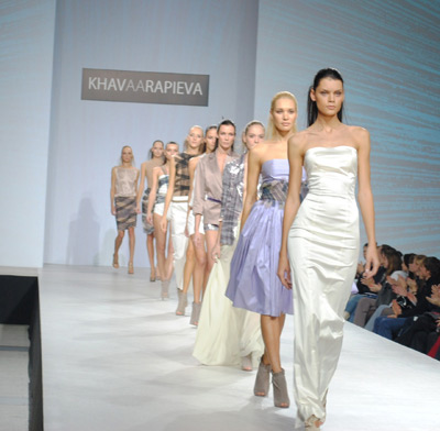 платье от известного дизайнера Хавы Арапиевой