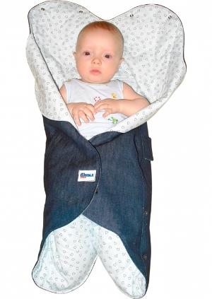 конверт для новорожденного на липучках