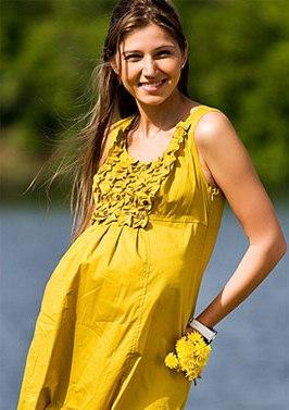 Летнее платье для беременной  как его выбрать  советы по подбору 10facd0b023