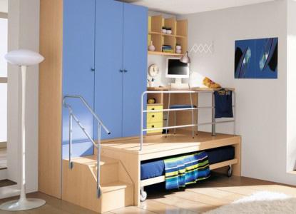 Уголок с мебелью для школьника