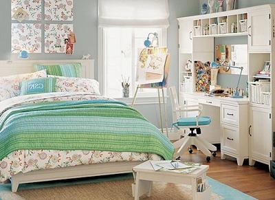 Шикарная кровать для девочки-школьницы