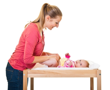 подмывать новорожденную