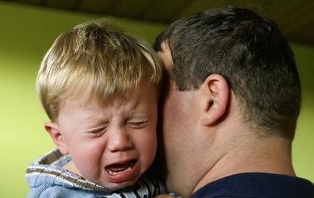 ребенок боится отца