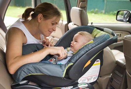 как перевозить ребенка в машине по правилам