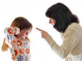 правильно ругать ребенка