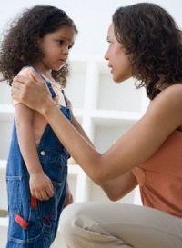 не ругаться на ребенка
