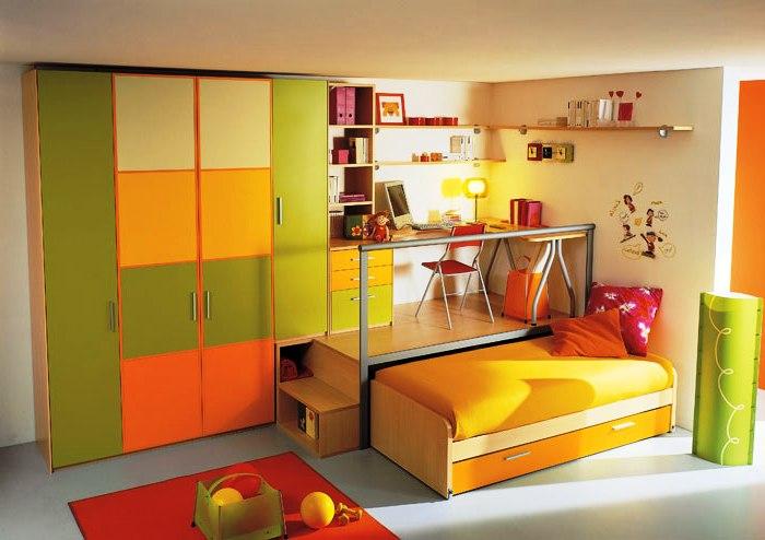 функциональная мебель для ребенка