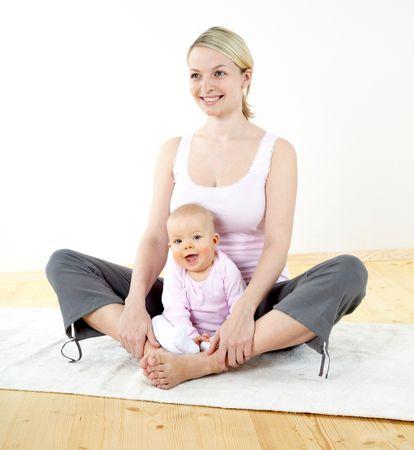 убрать живот после родов быстро