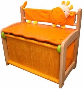 Ящик-скамейка для игрушек