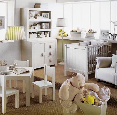 детская комната с местами для хранения игрушек