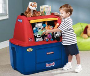 А в чем и где вы храните детские игрушки?