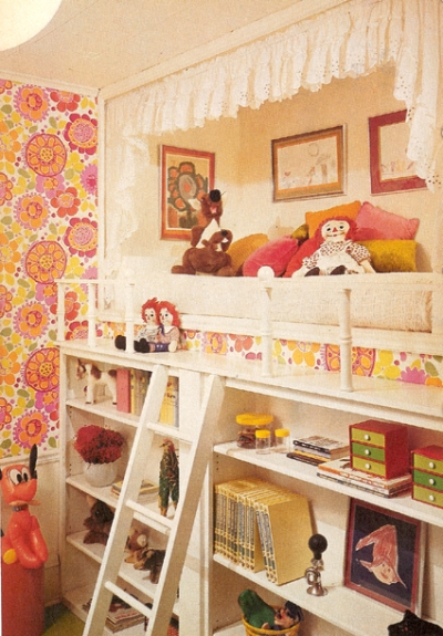 Кровать стеллаж для игрушек