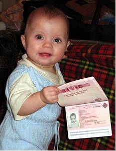 Документы на оформление загранпаспорта для …