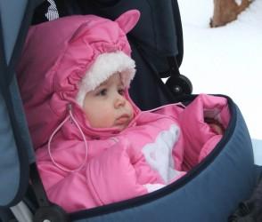 зимняя одежда для грудничка